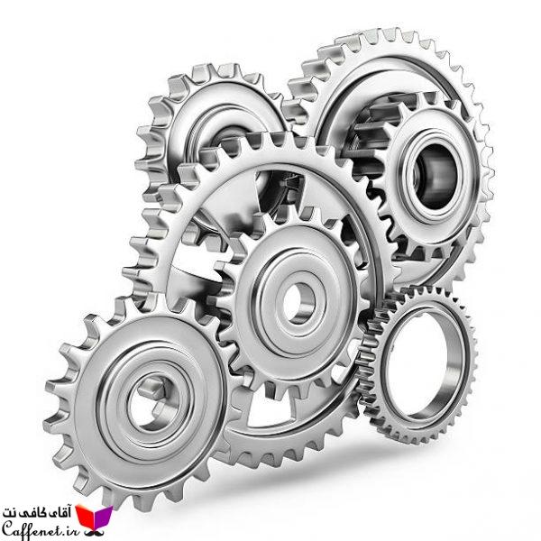 پاورپوینت اجزای ماشین سیستم چرخ دنده