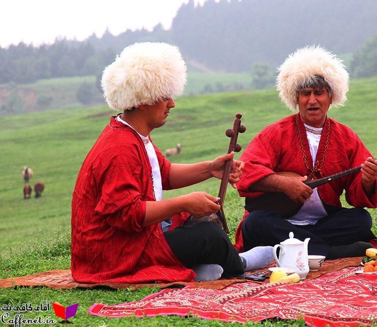 فرهنگ بومی و رسوم ترکمن ها