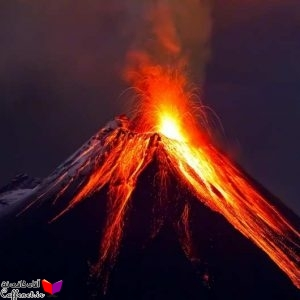 تحقیق آتشفشانهای فعال ایران و جهان
