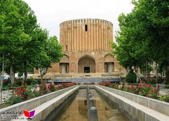 مقاله بررسی المان های باغ ایرانی