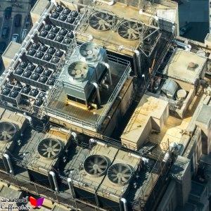 محاسبات تهویه مطبوع ساختمان 10 طبقه