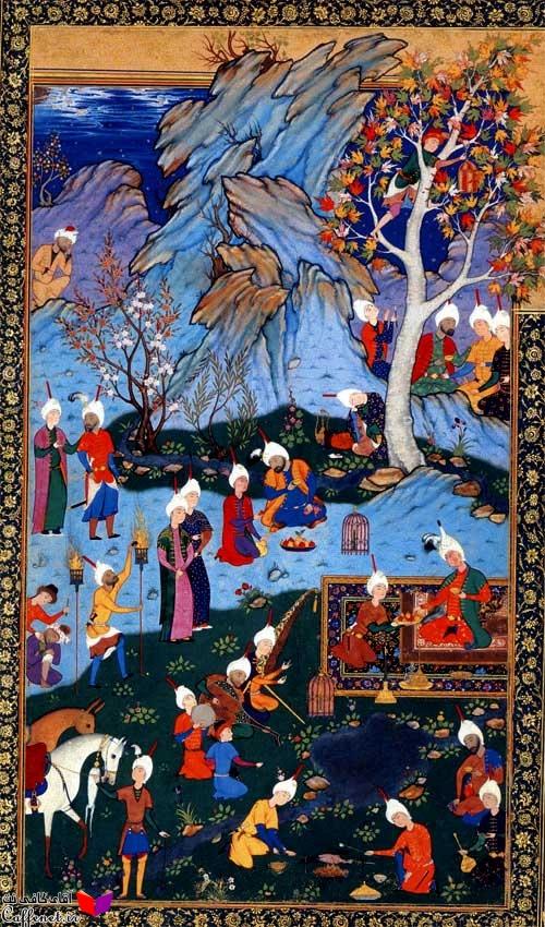 مقاله نقاشی در دوره صفویان